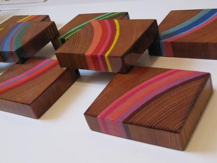 Houten decoratie balkhout timmermuis for Houten schijven decoratie